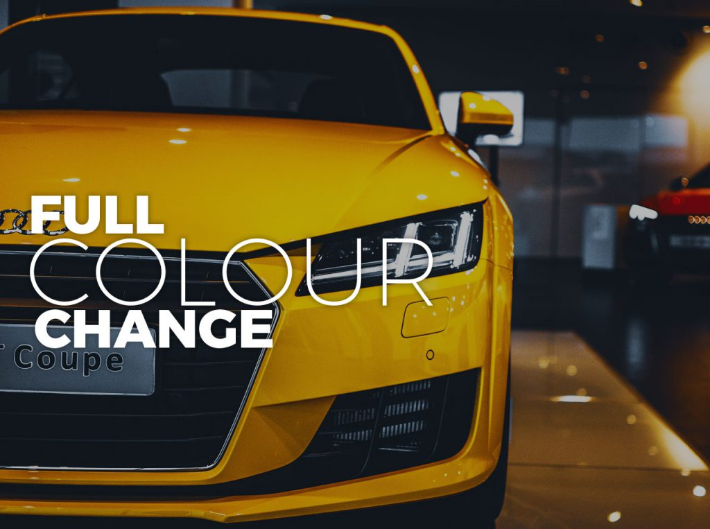 Full Colour Change Car Spray Painting