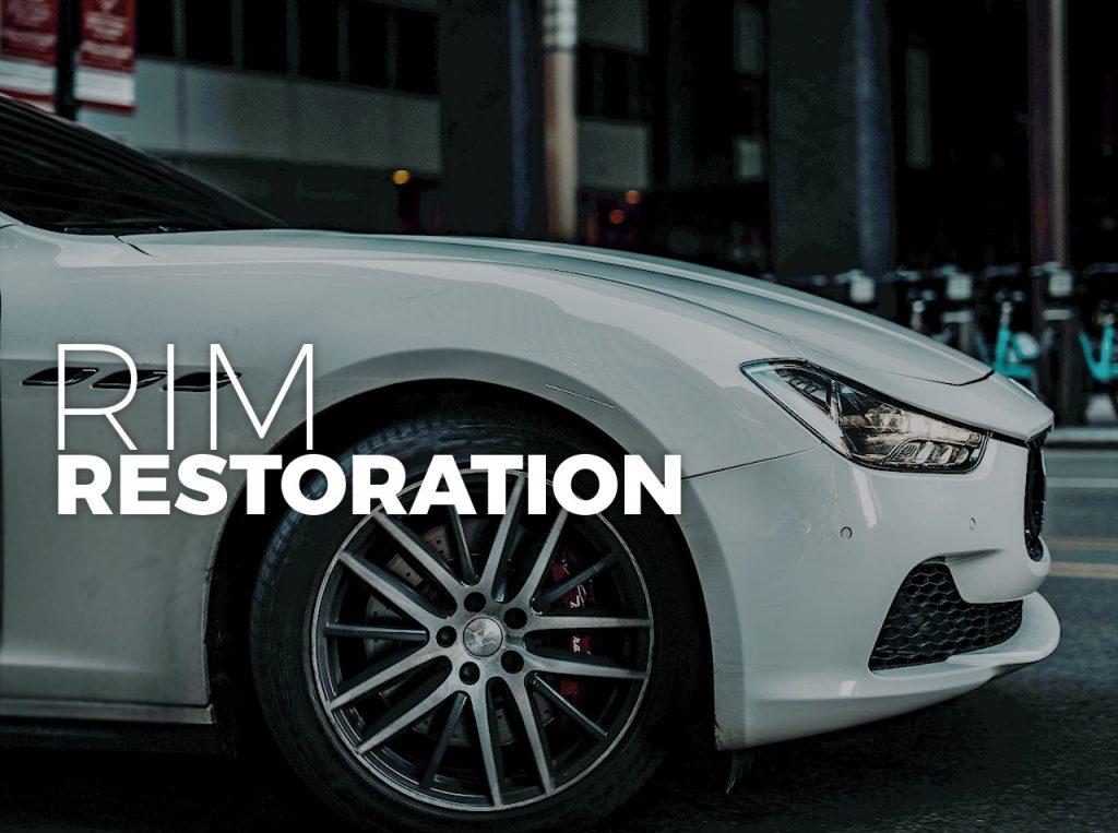 Car Rims Respray and Restoration Services